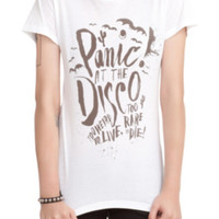 Panic! At The Disco Too Weird Girls T-Shirt