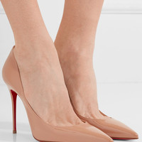 Christian Louboutin - Décolleté 554 100 patent-leather pumps