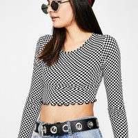 Chex In Motion Crop Top