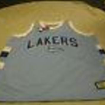 8ee083deecd9 LOS ANGELES LAKERS MAJESTIC HARDWOOD CLASSIC RETRO SKY BLUE JERSEY NEW WITH  TAGS