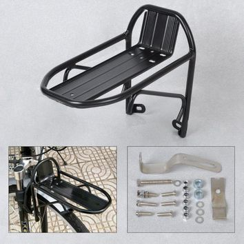 Aluminum Alloy MTB Road Cycling Bike Bicycle Front Rack Carrier Panniers Bag Luggage Shelf Bracket Trunk for Bicycle Parts