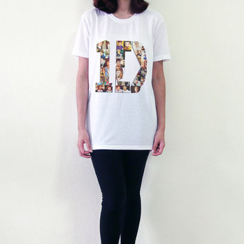 1D One Direction TShirt 1Direction Shirt Men Women T-Shirts Size S M L