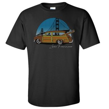 San Francisco Knit Style Woody Asst Colors T-shirt/tee