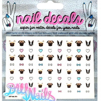 SQUISHY FACES NAIL DECALS - Default Title