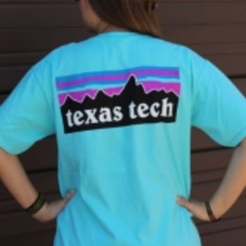 Texas Tech Patagonia Style T-Shirt