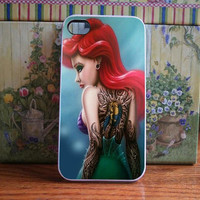 bad ariel mermaid back tatto for iPhone and Samsung galaxy case (available for iPhone 6 case)