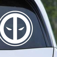 Deadpool Inspired Die Cut Vinyl Decal Sticker