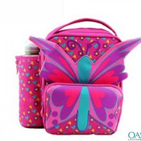 Pink Butterfly foods cooler bag - oasis bags