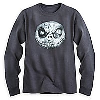 Jack Skellington Long Sleeve Tee for Adults