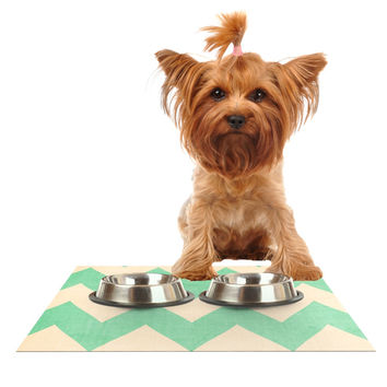 "Catherine McDonald ""Malibu"" Dog Place Mat"