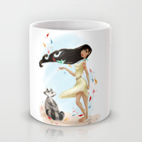 Paint with all the colors of the wind Mug by Lenore2411