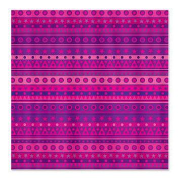 Purple and Pink Stripy Pattern Shower Curtain> Purple Patterned Gifts> Hippy Gift Shop Funky Hippie Gifts