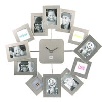Present Time - Wall clock Family Time Waver