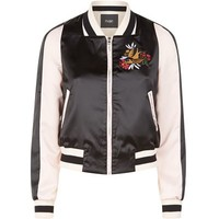 Maje Basla Embroidered Bomber Jacket