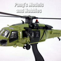Sikorsky UH-60 Black Hawk US ARMY 1/72 Scale Diecast Helicopter Model by Amercom