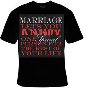 marriage wedding t shirt funny great cute gift tshirts