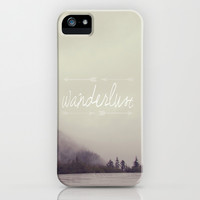 Wanderlust iPhone & iPod Case by Christine Hall