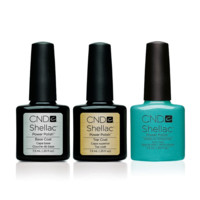 CND - Shellac Combo - Base, Top & Hotski to Tchotchke