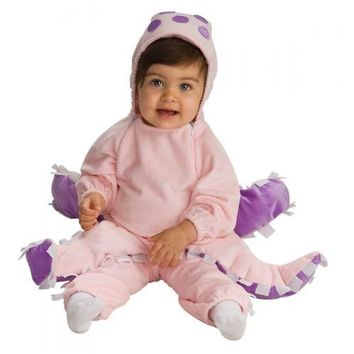 Pink Octopus Costume Halloween Fancy Dress