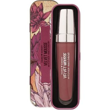Hard Candy Velvet Mousse Matte Lip Color Tin, 1218 Spider Orchid - Walmart.com