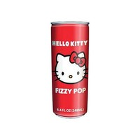 Hello Kitty NonCaffeinated Flavored Drink Fizzy Pop