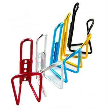 Aluminum Alloy Mountain Bike Water Bottle Cage Cycling Drink Water Bottle Rack Holder Outdoor Accessories