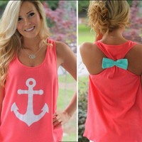 Top Women Tank Vest Shirt T-shirt _ 4420