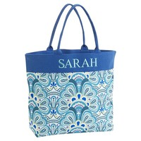 Beach Tote, Cool Capri