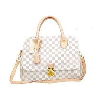 Louis Vuitton LV Women Fashion Leather Tote Satchel Handbag Shoulder Bag Crossbody