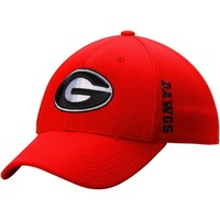 Georgia Top of the World 1Fit Logo Flex Hat | Georgia Bulldogs 1Fit Hat | UGA 1Fit Hat