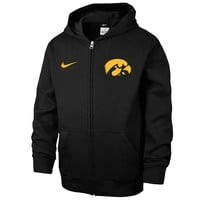 Nike Iowa Hawkeyes KO Therma-FIT Performance Fleece Hoodie - Boys