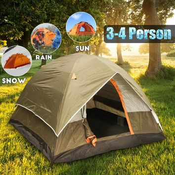 Weather Resistant Family Tent 3-4 people