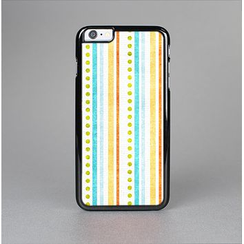 The Vintage Colored Stripes Skin-Sert Case for the Apple iPhone 6