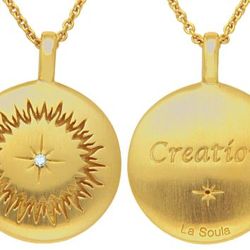 Creation Disc - Gold Plate