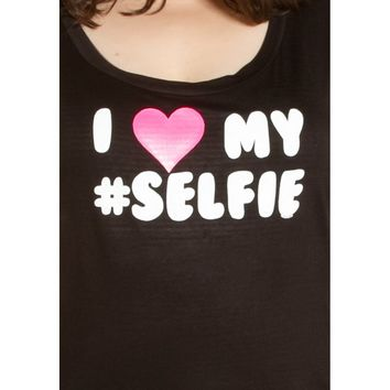 BA Only - Love My Selfie Graphic