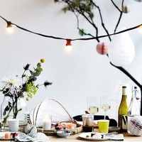 Light garland for indoor and outdoor parties — Bodie and Fou - Award-winning inspiring concept store