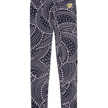 Girls Rainbow Stars Printed Legging by Juicy Couture