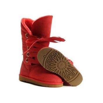One-nice™ Ugg Boots Sale Black Friday Roxy Tall 5818 Red For Women 111 67