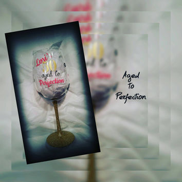 Birthday Wine Glass Decal for the DIY in you