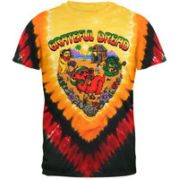 Grateful Dead - Positive Vibrations Tie Dye T-Shirt