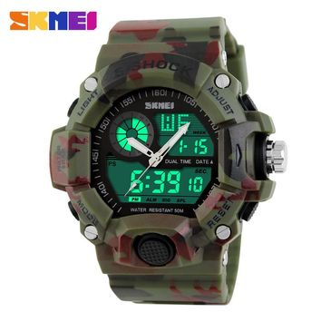 Skmei Digital Camouflage Military Watch