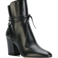 Sergio Rossi Ankle Boots With Tie - Farfetch