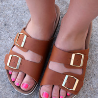 Downtown NYC Sandal - Tan