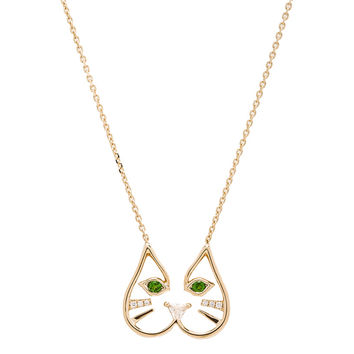 Ruifier Felix Pendant Necklace in 18k Yellow Gold | FWRD