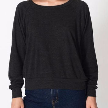 Long Cuff Sleeve Casual Sweatshirt