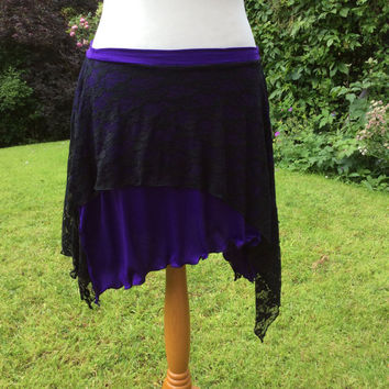 hip skirt, dance overskirt, tribal belly dance, tribal fusion, hip wrap, boho skirt, yoga skirt, layered skirt