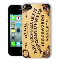 ChiChiC Iphone Case, i phone 4 4g 4s case,Iphone4 iphone4g iphone4s covers, plastic cases back cover skin protector,yellow Ouija board funny