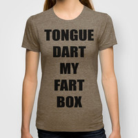 Tongue Dart T-shirt by Raunchy Ass Tees
