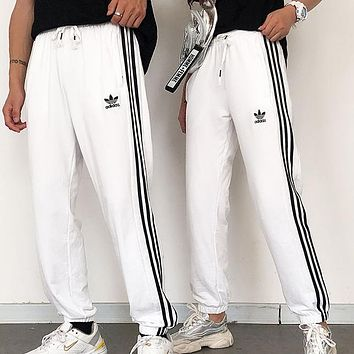 Adidas Fashion Women Men Loose Exercise Sport Pants Trousers Sweatpants