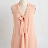 Miami Moments Tank Top in Peach | Mod Retro Vintage Short Sleeve Shirts | ModCloth.com